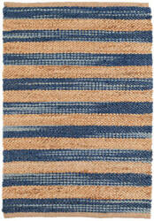 Dash And Albert Corfu Woven Blue Area Rug
