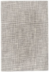 Dash And Albert Crosshatch Da65 Dove Grey Area Rug