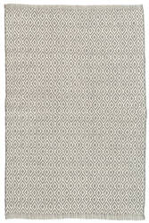 Dash And Albert Crystal Indoor-Outdoor Grey - Ivory Area Rug