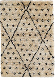 Dash And Albert Doti Hand Knotted Black Area Rug