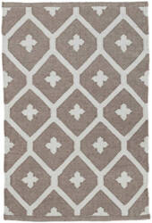 Dash And Albert Elizabeth Indoor-Outdoor Grey Area Rug