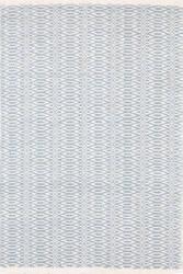 Dash And Albert Fair Isle 105506 Swedish Blue/Ivory Area Rug