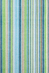 Dash And Albert Fisher Indoor-Outdoor Green Area Rug