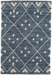 Dash And Albert Kota Woven Indigo Area Rug