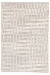 Dash And Albert Lattice Cotton Dove Grey Area Rug