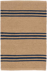 Dash And Albert Lexington Rdb338 Navy - Camel Area Rug