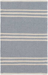 Dash And Albert Lexington Rdb365 Swedish Blue - Ivory Area Rug