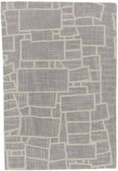 Dash And Albert Lloyd Micro hooked Grey Area Rug
