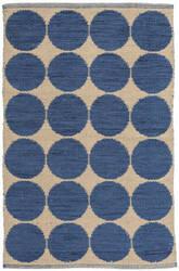 Dash And Albert Orbit Da114 Blue Area Rug