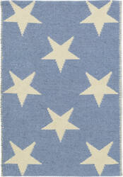Dash And Albert Star Rdb366 French Blue - Ivory Area Rug