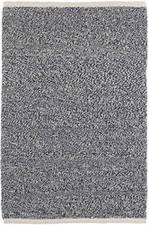 Dash And Albert Terry Woven Indigo Blue Area Rug