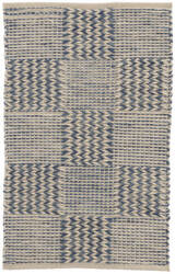 Dash And Albert Tiles Woven Blue Area Rug