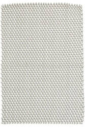 Dash And Albert Two-Tone Rope Indoor - Outdoor Platinum-White Area Rug