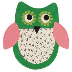 Designers Guild Little Owl 176069 Emerald Area Rug