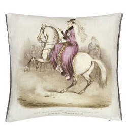 Designers Guild Queen Victoria Pillow 176104 Amethyst