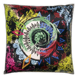 Designers Guild Barock And Roll Pillow 175966 Reglisse