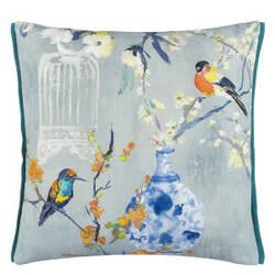 Designers Guild Istoriato Pillow 176060 Zinc