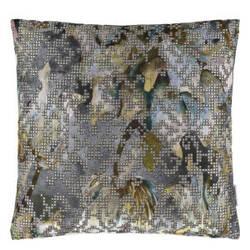 Designers Guild Bardiglio Pillow 175965 Zinc