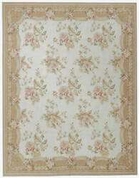 Due Process Aubusson Belfort Ivory - Peach Area Rug