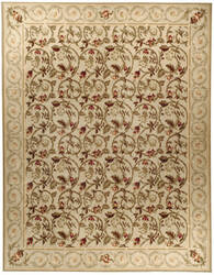 Due Process Aubusson Durham Honey Area Rug