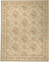 Due Process Aubusson Niort Cream Area Rug