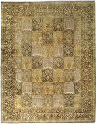 Due Process Benares Garden Multi Area Rug