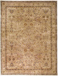 Due Process Benares Kashan Cream - Ivory Area Rug