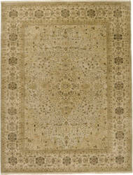 Due Process Benares Tabriz Ivory - Gold Area Rug