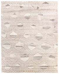 Due Process Congo Mali Snow Cap Area Rug