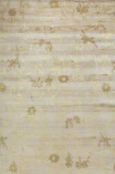 Due Process Empress Spring Ivory - Gold Area Rug