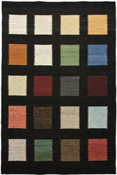 Due Process Flatweave Patchwork Multi Area Rug
