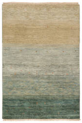 Due Process Gabbeh Radiance Teal Area Rug