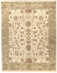 Due Process Jagapatti Lilihan Cream - Gold Area Rug