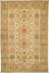 Due Process Jinan Shirvan Cream - Gold Area Rug