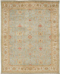 Due Process Jinan Tehran Sea Foam - Ivory Area Rug