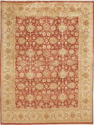 Due Process Kandahar Agra Rust - Gold Area Rug