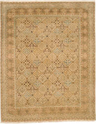 Due Process Kandahar Joshegan Sand - Gold Area Rug
