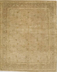 Due Process Khyber Devon Gold - Brown Area Rug