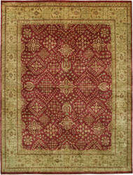 Due Process Khyber Joshegan Brick - Cream Area Rug
