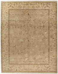 Due Process Madras Brighton Cream - Ivory Area Rug