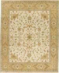 Due Process Mirzapur Herati Ivory - Gold Area Rug