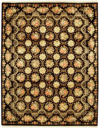 Due Process European Cambridge Black Area Rug