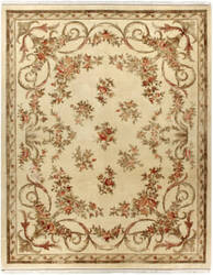Due Process European Shenandoah Ivory Area Rug