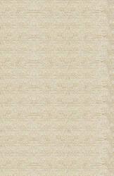 Due Process Nouveau Alternating Stripe Cream Area Rug