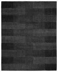 Due Process Century Isometry Ebony Area Rug