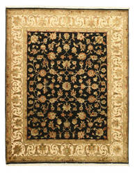 Eastern Rugs One-Of-A-Kind 14443 Black Area Rug