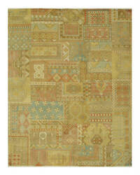Eastern Rugs Patch Agra 9026 Multicolor Area Rug