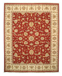 Eastern Rugs One-Of-A-Kind 9120 Red Area Rug