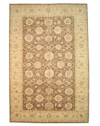 Eastern Rugs Peshawar 9263 Brown Area Rug