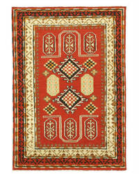 Eastern Rugs Kazak 9283 Red Area Rug